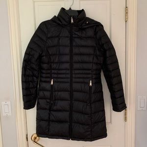 Andrew Marc Lightweight Black Puffer Jacket